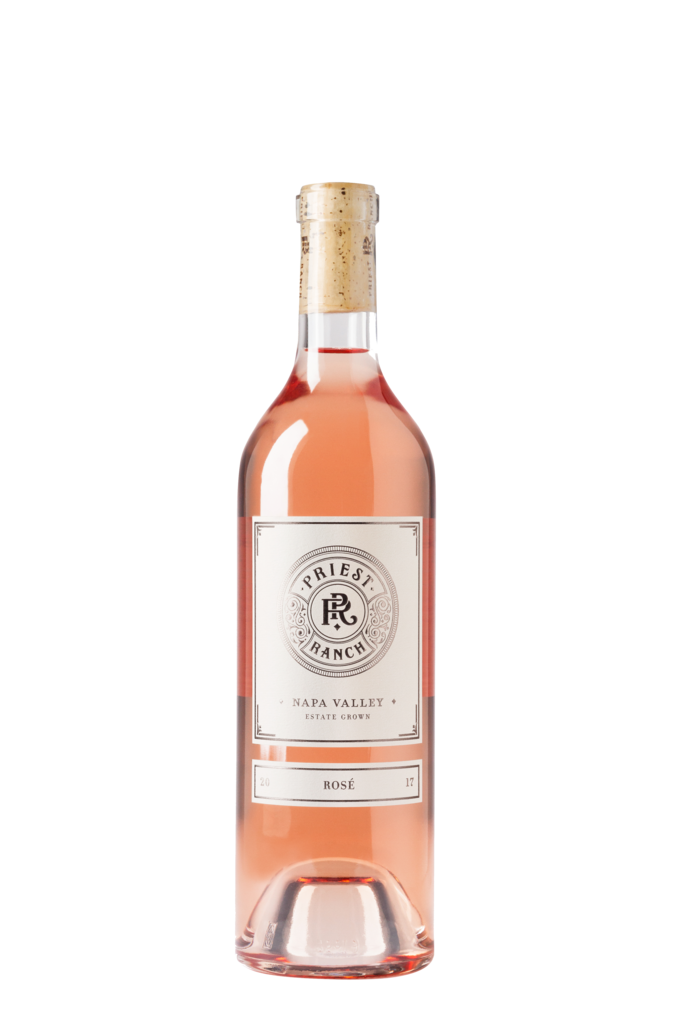 Priest Ranch Winery Rosé Bottle Preview
