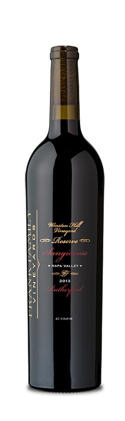 Frank Family Vineyards Winston Hill Vineyard Sangiovese Bottle Preview