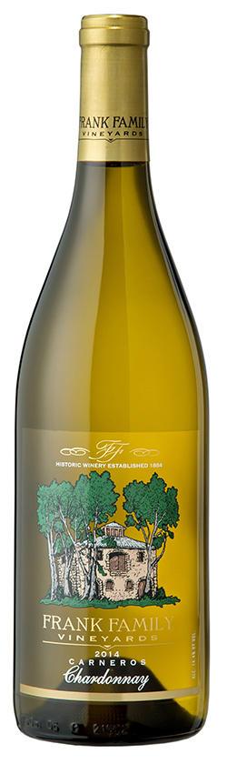 Frank Family Vineyards Carneros Chardonnay Bottle Preview