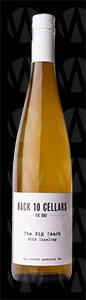 Back 10 Cellars The Big Reach Riesling
