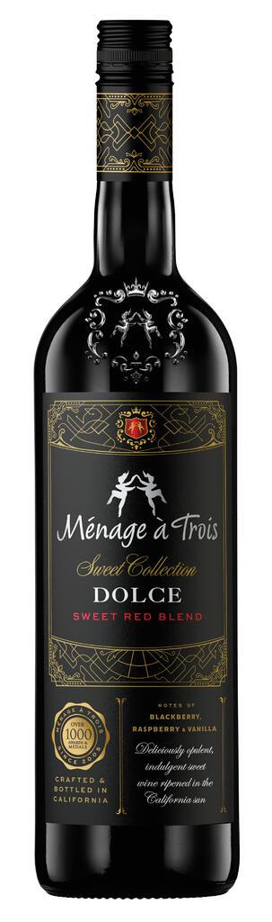 Ménage à Trois Wines Ménage à Trois Dolce Sweet Red Blend Bottle Preview