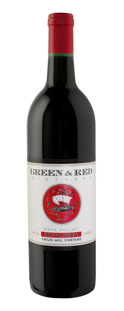 Green & Red Vineyard Chiles Mill Vineyard, Estate Grown & Bottled, Single Vineyard Bottle Preview