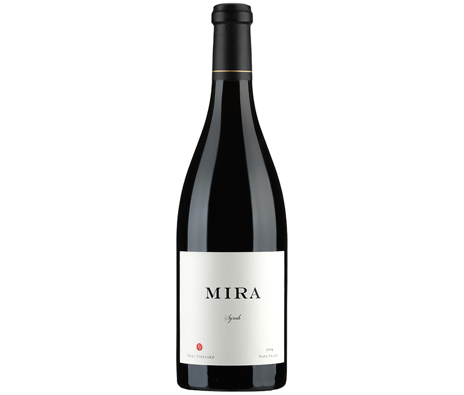 Mira Winery Syrah Hyde Bottle Preview