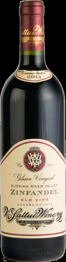 Gilsson Old Vine Zinfandel Bottle