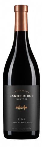 Canoe Ridge Vineyard Limited Edition Syrah Bottle Preview
