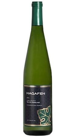 Hagafen Cellars Lake County Riesling Bottle Preview