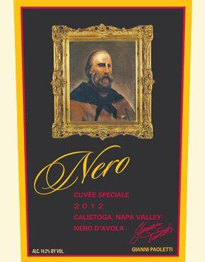 Paoletti Estates Winery Nero d'Avola Bottle Preview