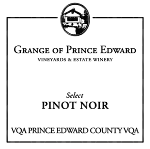 The Grange of Prince Edward Vineyards and Estate Winery Select Pinot Noir