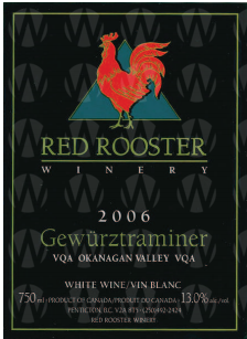 Red Rooster Winery Gewurtztraminer