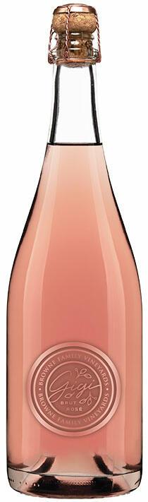 Browne Family Vineyards Gigi Brut Rose Bottle Preview