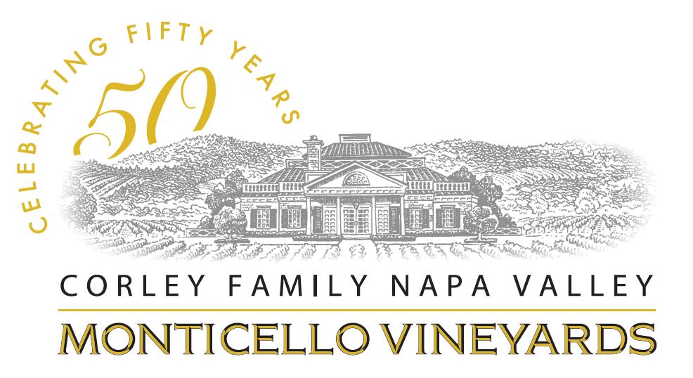 Corley Family Napa Valley - Monticello Vineyards Logo