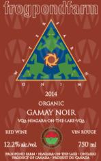 Frogpond Farm Organic Winery Gamay Noir