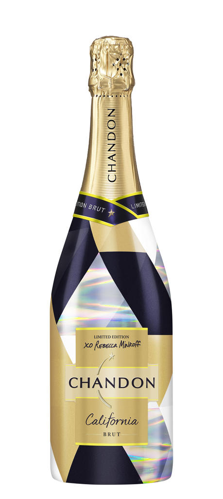 Domaine Chandon US Limited Edition Brut,  Winter Bottle Preview