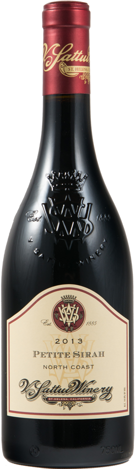 V. Sattui Winery North Coast Petite Sirah Bottle Preview