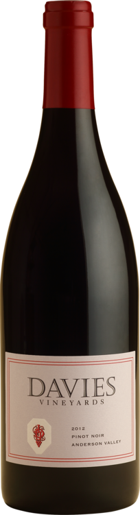 Davies Vineyards ANDERSON VALLEY PINOT NOIR Bottle Preview
