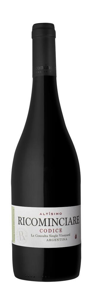 Ricominciare Family Winery Ricominciare Altísimo Codice Bottle Preview