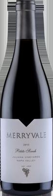 Merryvale Vineyards Petite Sirah, Juliana Vineyards Bottle Preview
