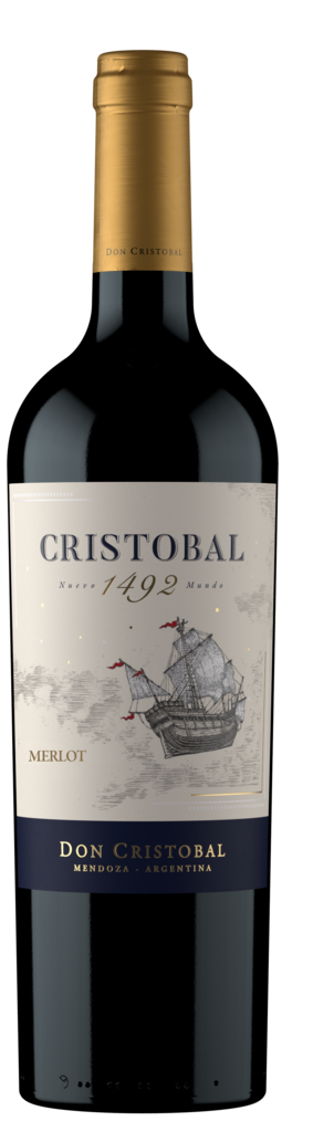 Bodega Don Cristobal Cristobal 1492 Merlot Bottle Preview