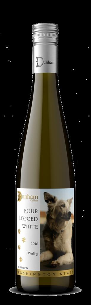 Dunham Cellars Four Legged White Bottle Preview