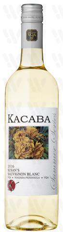 Kacaba Vineyards and Winery Susan's Sauvignon Blanc
