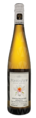 PondView Estate Winery Gewurztraminer Riesling