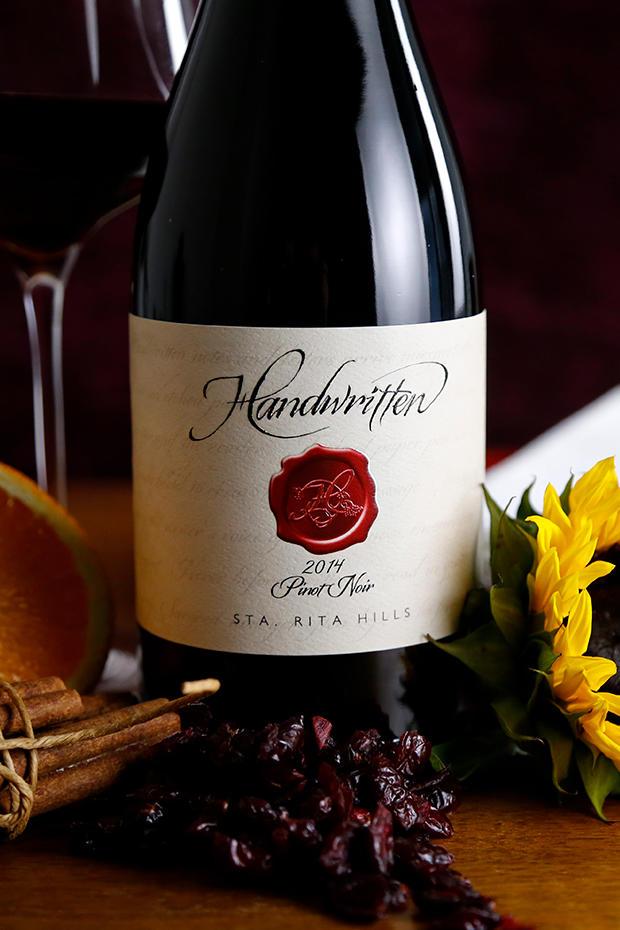 Handwritten Wines Pinot Noir Santa Rita Hills Bottle Preview