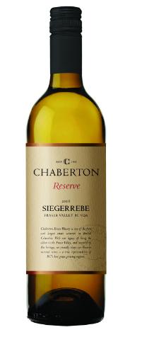 Chaberton Estate Winery Reserve Siegerrebe