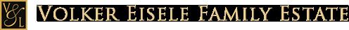 Volker Eisele Family Estate Logo