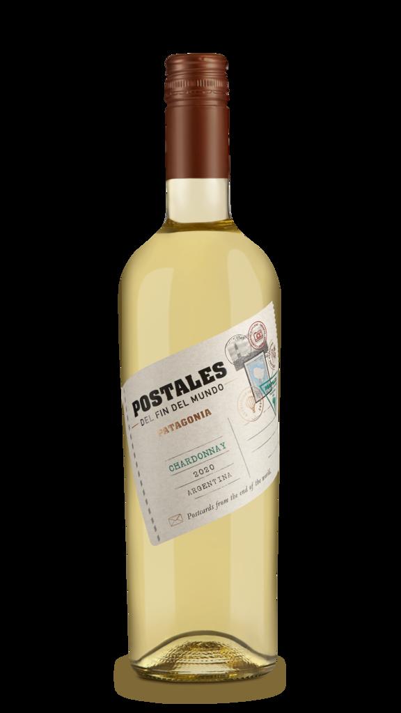 Postales Chardonnay Bottle