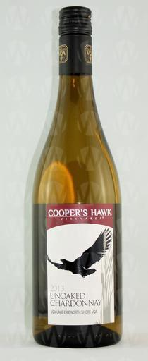 Cooper's Hawk Vineyards Unoaked Chardonnay