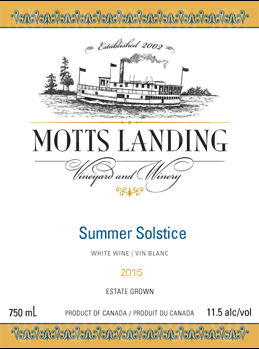 Motts Landing Estate Winery Summer Solstice