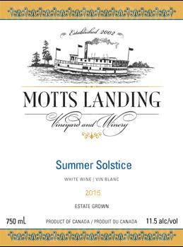 Motts Landing Estate Winery Summer Solstice