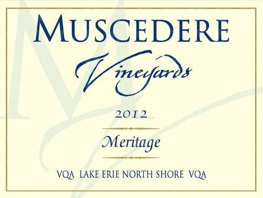 Muscedere Vineyards Meritage
