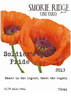 Smokie Ridge Vineyard Soldier's Pride Battle Born Red