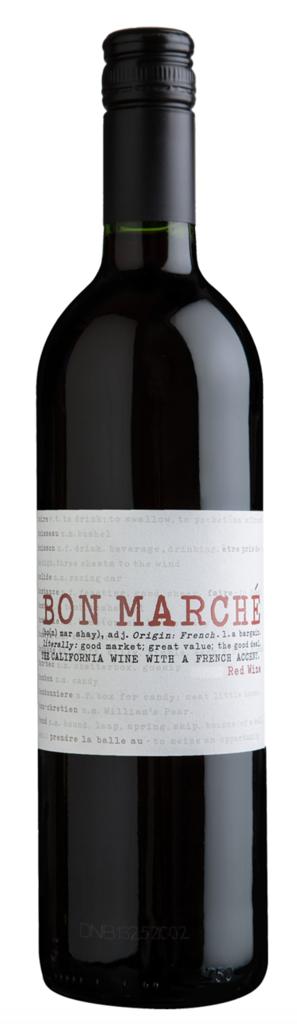 Buehler Vineyards Bon Marché Red Blend Bottle Preview