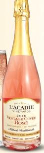 L'Acadie Vineyards Vintage Cuvée Rosé