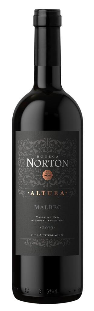 Bodega Norton Altura Bottle Preview