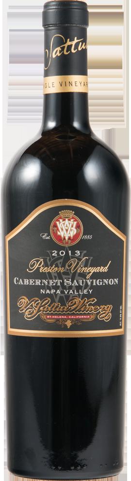 Preston Vineyard Cabernet Sauvignon Bottle