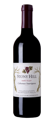Stony Hill Cabernet Sauvignon Bottle