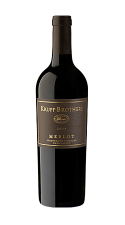 Krupp Brothers Merlot Bottle Preview