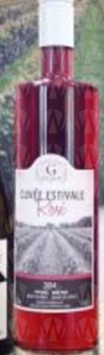Vignoble Gélinas Cuvée Estivale Rosé