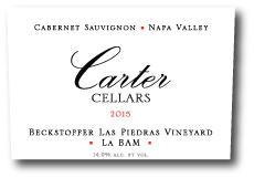 Carter Cellars Beckstoffer Las Piedras 'La BAM' Cabernet Sauvignon Bottle Preview