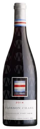 Closson Chase Vineyards Churchside Pinot Noir