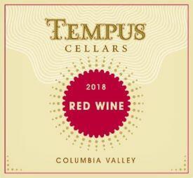 Tempus Cellars Red Blend Bottle Preview