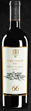 RD Winery Napa 66 Primo Cabernet Sauvignon Bottle Preview