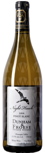 Covert Farms Family Estate Winery Dunham & Froese Pinot Blanc