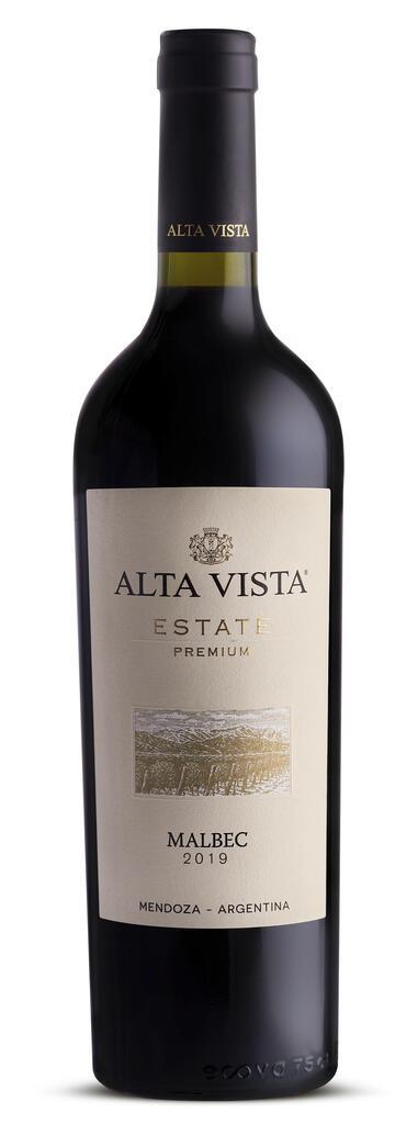 Alta Vista Wines Alta Vista Estate Premium Malbec Bottle Preview