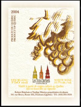 Vignoble Les Trois Clochers Blanc