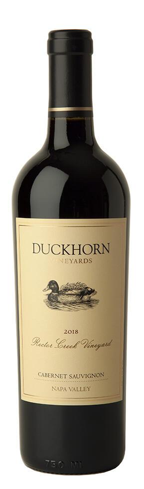 Duckhorn Vineyards Cabernet Sauvignon Rector Creek Vineyard Bottle Preview