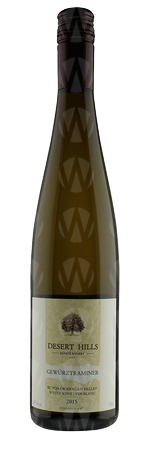 Desert Hills Estate Winery Gewurztraminer